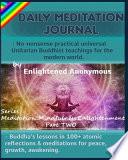 Daily Meditation Journal: No-Nonsense Practical Universal Unitarian Buddhist Teachings for the Modern World