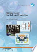 Nuclear Energy for Hydrogen Production