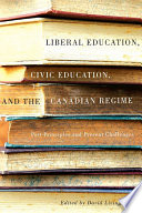 Liberal Education Civic Education And The Canadian Regime