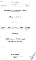 Public Documents of the First Fourteen Congresses  1789 1817