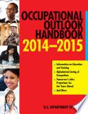 Occupational Outlook Handbook 2014 2015 Book