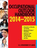 Occupational Outlook Handbook 2014-2015 Pdf/ePub eBook