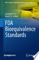 """FDA Bioequivalence Standards"" by Lawrence X. Yu, Bing V. Li"