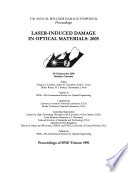 Laser Induced Damage in Optical Materials