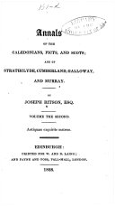 Annals of the Caledonians, Picts, and Scots