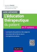 Pdf Aide-mémoire. L'éducation thérapeutique du patient Telecharger