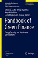 Handbook of Green Finance Book