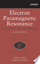 Electron Paramagnetic Resonance Book PDF