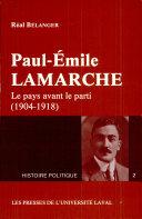 Paul-Émile Lamarche [Pdf/ePub] eBook