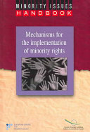Mechanisms for the Implementation of Minority Rights