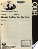 Market Profiles For East Asia