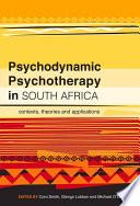 Psychodynamic Psychotherapy In South Africa