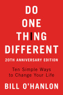 Do One Thing Different Pdf