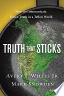 Truth That Sticks Book