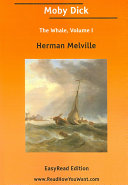 Pdf Moby Dick the Whale Volume I EasyRead Ed