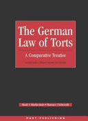 Pdf The German Law of Torts