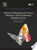 Inhaled Pharmaceutical Product Development Perspectives