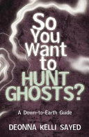 Pdf So You Want to Hunt Ghosts?