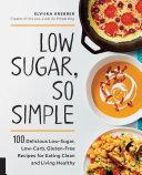 Low Sugar  So Simple