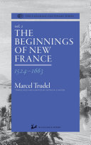 Pdf The Beginnings of New France 1524-1663 Telecharger