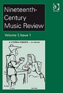 Nineteenth-Century Music Review