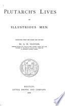 Plutarch s Lives of Illustrious Men Book PDF