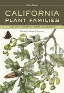 California Plant Families