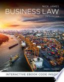 """Business Law"" by Nickolas James, Timothy Thomas"