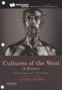 Cultures of the West Book PDF