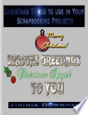 Christmas Titles to Use in Your Scrapbooking Projects