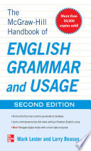 McGraw Hill Handbook of English Grammar and Usage  2nd Edition
