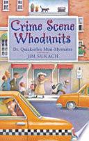 Crime Scene Whodunits Book