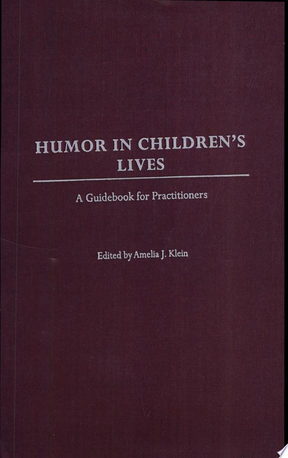 Humor in Children's Lives