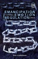 Emancipation Through Emotion Regulation at Work Pdf/ePub eBook