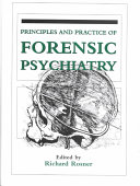 Principles And Practice Of Forensic Psychiatry Book PDF