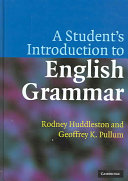A Student s Introduction to English Grammar