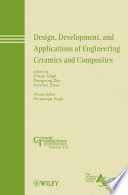 Design Development And Applications Of Engineering Ceramics And Composites Book PDF
