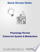 Quick Physiology Review  Metabolism and the Endocrine System