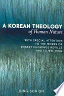 A Korean Theology of Human Nature