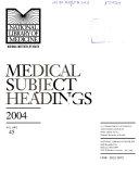 Medical Subject Headings ebook