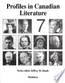 Profiles in Canadian Literature Book