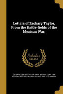 LETTERS OF ZACHARY TAYLOR FROM