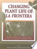 Changing Plant Life of La Frontera Book