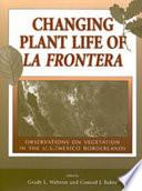 Changing Plant Life of La Frontera Book PDF