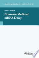Nonsense-Mediated mRNA Decay