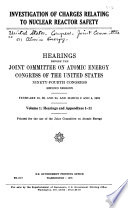 Hearings and appendixes 1 11 Book