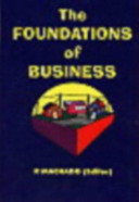 The Foundations of Business