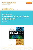 Color Textbook of Histology Pageburst E book on Kno Retail Access Card Book
