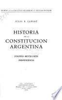 Historia de la Constitución Argentina