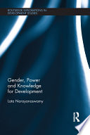 Gender  Power and Knowledge for Development